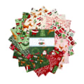 """Riley Blake Merry And Bright 5"""" Stackers 42 Pcs."""