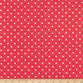 Penny Rose Storytime 30s Dots Red