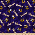 NFL Flannel Minnesota Vikings Tie Dye Purple