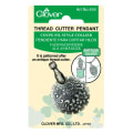 Clover Thread Cutter Pendant (Antique Silver)