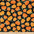 Kanvas Faboolous Fun Glowing Pumpkins Black