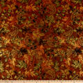 Kanvas Harvest Gold Harvest Paisley Leaf GoldBrown