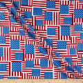 Kanvas Star Spangled Stars & Stripes Geo Red/Blue