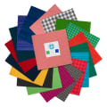 Contempo Warp & Weft 10x10 Pack 42 Pcs