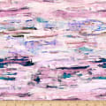 Shannon Studio Digital Minky Cuddle Abstract Pink