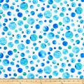 Kanvas Color Calypso Dots White/Blue