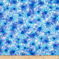 Kanvas Color Calypso Color Kissed Flowers White/Blue
