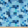 Kanvas Palermo Tile Geo Blue/Teal