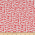 Contempo Fandangle Beaded Curtain Red/Grey