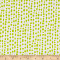 Contempo Fandangle Beaded Curtain Lime/White