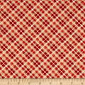 Off Shore 2 Plaid Red