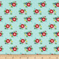 Simple Goodness Floral Aqua