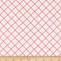 Simple Goodness Ruffle Plaid Pink