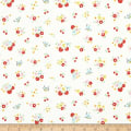 Bluebirds On Roses Floral Cream