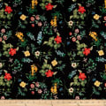 In Bloom Floral Black
