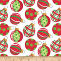 Holiday Beach Ornaments White