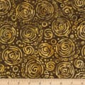 River Falls Brown Circle Batik Brown