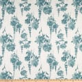 Premier Prints Modern Farmhouse Garden Slub Canvas Plantation Blue
