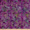 Anthology Batiks Lavender Fields Butterfly Dance Violet