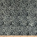 Anthology Fabrics Number 20, 1950 Art Inspired Batik Feathered Ink