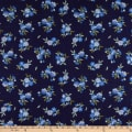 Whistler Studios Serenade Floral W/Stitches Navy