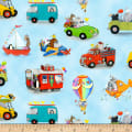 On the Go Assorted Juvenile Characters Blue