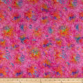 QT Fabrics Evolution Radiance Splatter Light Pink