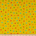 QT Fabrics  Fly Free Dots Yellow