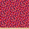QT Fabrics Ink & Arrow Chilly Dogs Dots Red