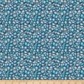 QT Fabrics Fresh Catch River Rock Blue