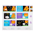 "Huggable & Lovable 36"" Panel Halloween Book Multi"