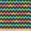 Butterfly Dream Zig Zag Tex Black