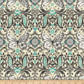 Butterfly Dream Butterfly Damask Cream/Blue