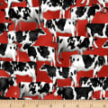 Heritage Usa Cows Red
