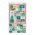 Andover/Makower UK Merry Merry Advent Calendar Multi