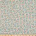 Andover/Makower UK Stitch in Time Ditzy Floral Cream