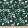 NCAA Michigan State Paisley Cotton
