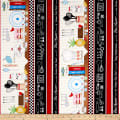 Timeless Treasures Row By Row 2019 Cooking Stripe Multi