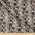 Telio Dolce Faux Leather Snake Print Off White Taupe