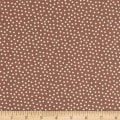 Stoffabric Denmark Quilters Basic Memory Small Dots Taupe