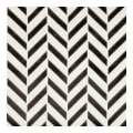 Kravet Couture Velvet Pinnacle Velvet Ivory/Noir 34779 81
