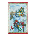 """Northcott Christmas Delivery 28"""" Panel Red/Multi"""