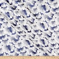 "116"" Wedding Table Top Carnation Jacquard Navy"