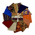 Baxter Mill Spirit Of Africa Fat Quarter Bundle Multi 12 Pcs