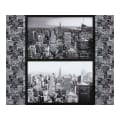 "Kaufman Cityscapes Buildings 35"" Panel Gotham Grey"