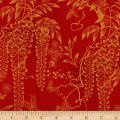 Kaufman Imperial Collection Metallic 15 Wisteria Red