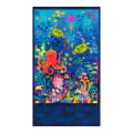 "Kaufman Octopus Garden 24"" Panel Ocean"