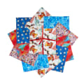 """Fabric Editions American Icon 10"""" Charms, 20Pcs"""
