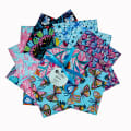 "Fabric Editions Magic Garden 5"" Small Charms, 24pcs."
