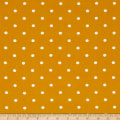 Telio Pebble Crepe Dots Mustard White